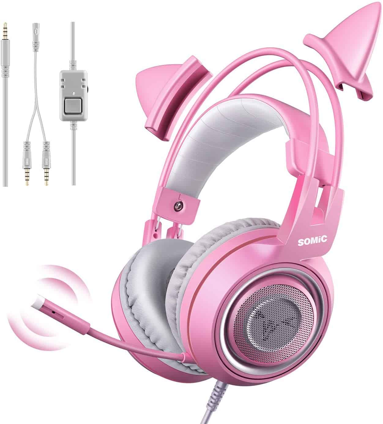 Somic G951s gaming headset with mic